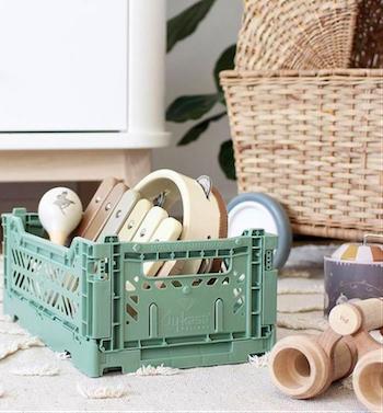 foldekasser til legetøjsopbevaring